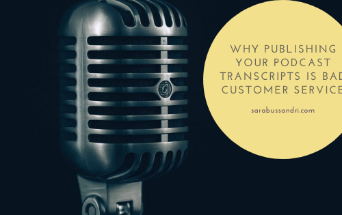 publishing your podcast transcripts