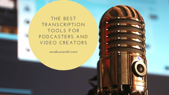 The best transcription tools for podcasters and video creators