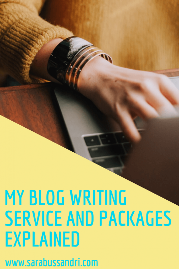 blog writing service and packages explained